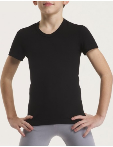 Tee shirt col V  Temps danse