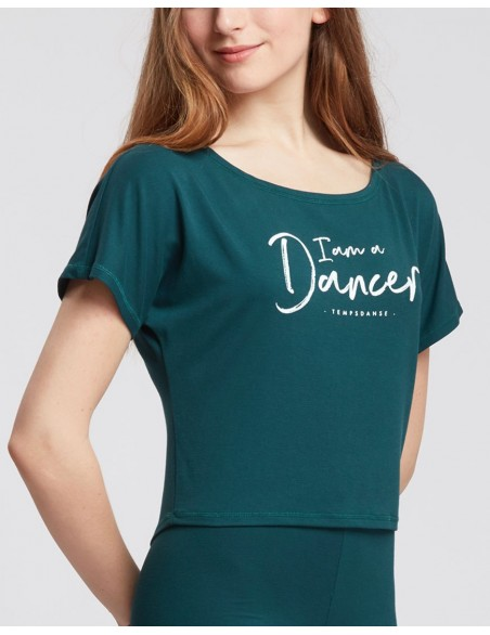 Tee-shirt AGILE I AM Temps Danse