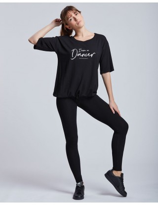 T-shirt large AGATHE I am a dancer Temps Danse