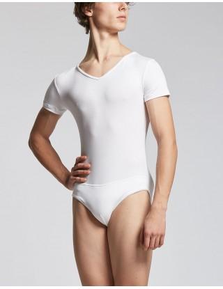 Justaucorps Homme blanc - OREL - TEMPS DANSE