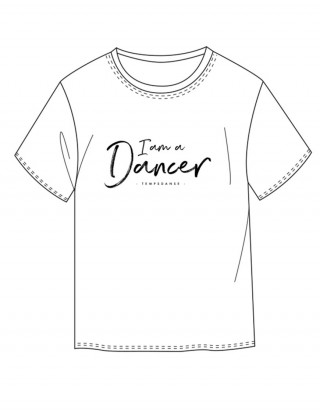 T-shirt Homme - ORIAN I AM - TEMPS DANSE