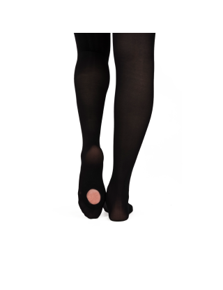 PALETTE TIGHTS - Russian Pointe - collants convertibles - Black