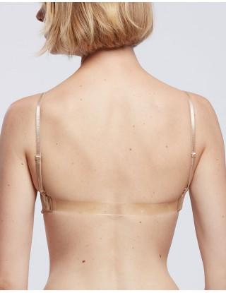 Soutien-gorge de danse invisible transparent nude SILK - TEMPS DANSE