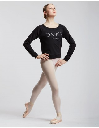 Sweat noir Fille TALIA JR DANCE Temps Danse