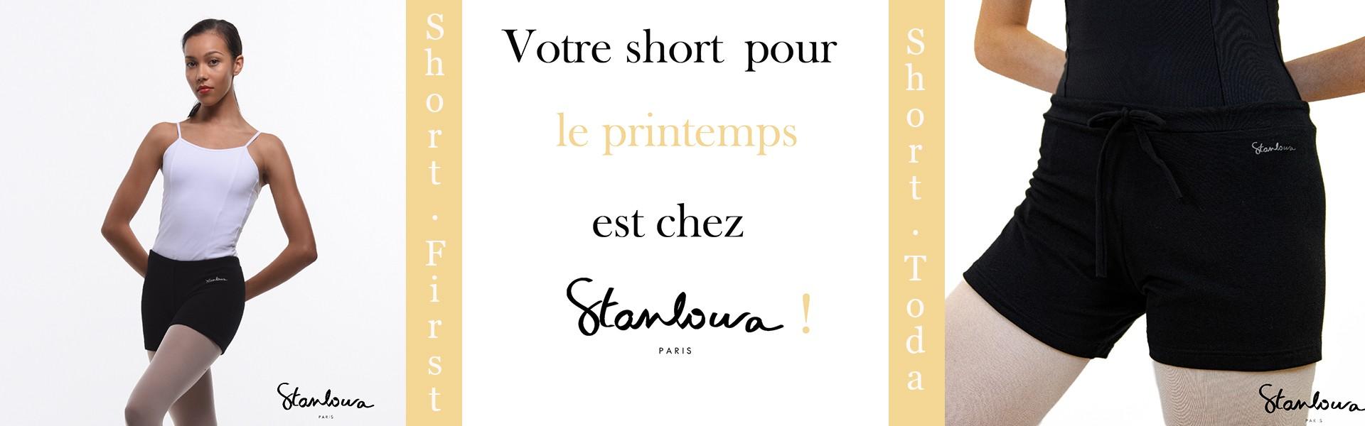 short de printemps